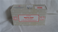SATYA WHITE SAGE 15GM X 12