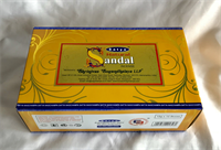 Natural Sandal incense Satya 15gx12Boxes
